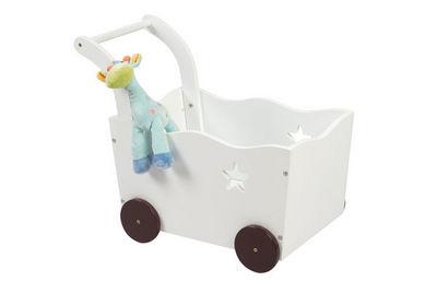 Miliboo - Coffre à jouets-Miliboo-ETOILE coffre jouets chariot
