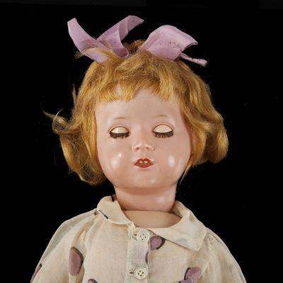 Expertissim - Poupée-Expertissim-Bébé allemand avec tête en celluloïd.