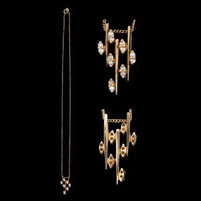 Expertissim - Pendentif-Expertissim-Chaîne et pendentif en or et diamants
