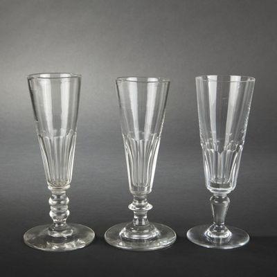 Expertissim - Flûte à champagne-Expertissim-Sept flûtes à champagne en cristal