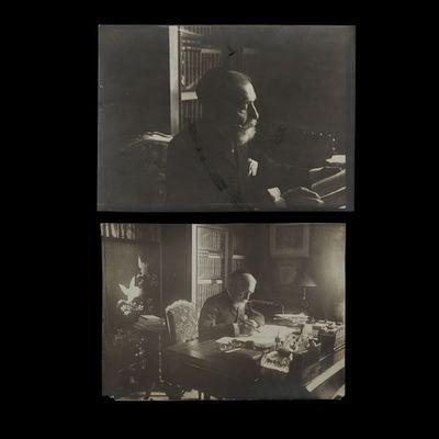 Expertissim - Photographie-Expertissim-DAUDET Ernest (1837-1921). Deux photographies par