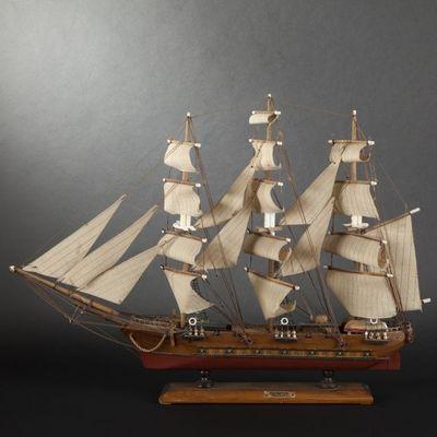 Expertissim - Maquette de bateau-Expertissim-Maquette d'une frégate
