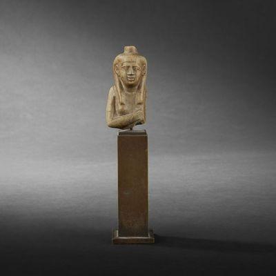 Expertissim - Buste-Expertissim-Buste de statuette d'Isis, Egypte