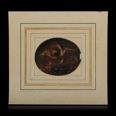 Expertissim - Huile sur toile et huile sur panneau-Expertissim-Ecole Italienne vers 1790. Marie-Madeleine repenta