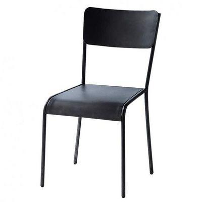 Maisons du monde - Chaise-Maisons du monde-Chaise noire Edison