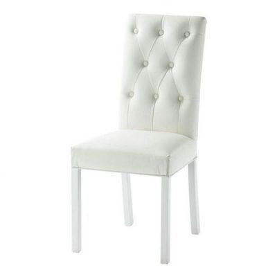 Maisons du monde - Chaise-Maisons du monde-Chaise blanche Elizabeth