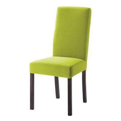 Maisons du monde - Housse de chaise-Maisons du monde-Housse vert pomme Margaux