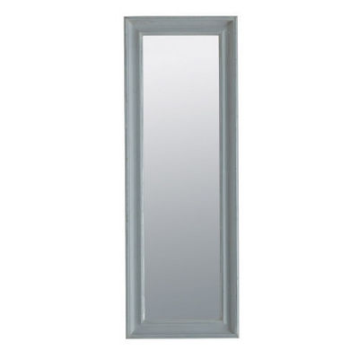 Maisons du monde - Miroir-Maisons du monde-Miroir Elianne gris 44x124