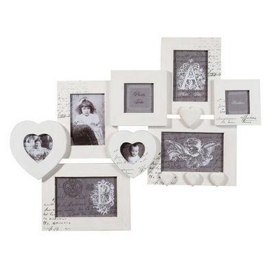 Maisons du monde - Cadre photo-Maisons du monde-Cadre multivues gris Emilie