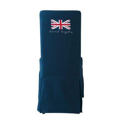 Maisons du monde - Housse de chaise-Maisons du monde-Housse de chaise marine drapeau Margaux