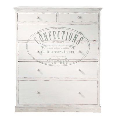 Maisons du monde - Meuble à tiroirs-Maisons du monde-Commode haute Confection