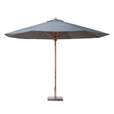 Maisons du monde - Parasol-Maisons du monde-Parasol 250 cm rond gris Oléron
