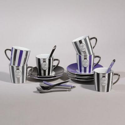 Maisons du monde - Tasse à café-Maisons du monde-Coffret 6 tasses à café de Luxe