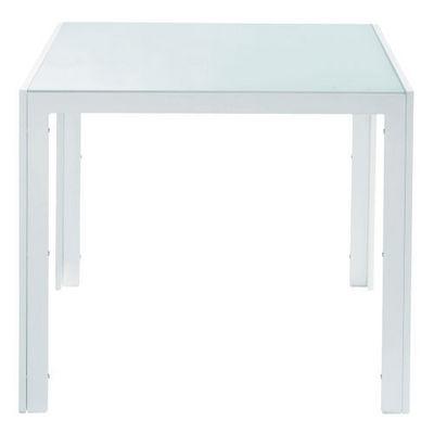 MAISONS DU MONDE - Table de repas carrée-MAISONS DU MONDE-Table à diner carrée Santorin