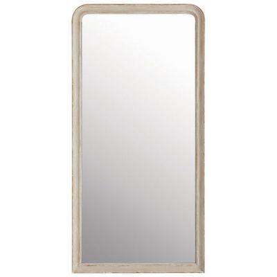 Maisons du monde - Miroir-Maisons du monde-Miroir Elianne arrondi beige 90x180