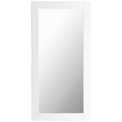 Maisons du monde - Miroir-Maisons du monde-Miroir Natura blanc 90x180