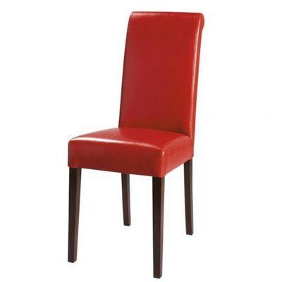 Maisons du monde - Chaise-Maisons du monde-Chaise rouge Boston