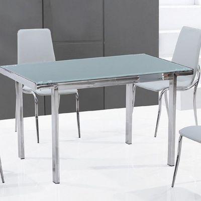 CLEAR SEAT - Table de repas rectangulaire-CLEAR SEAT-Table en Verre Rectangle Fosco