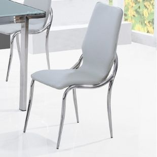 CLEAR SEAT - Chaise visiteur-CLEAR SEAT-Chaises Kiss Gris lot de 6