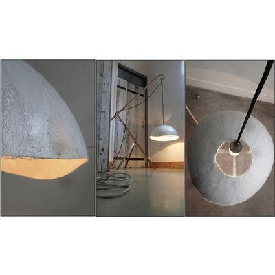NINA IMAGINE... - Lampe à poser-NINA IMAGINE...-Lampadaire design récup Ovoïde