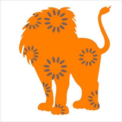 LILI POUCE - Sticker D�cor adh�sif Enfant-LILI POUCE-Stickers l�on le lion l�on