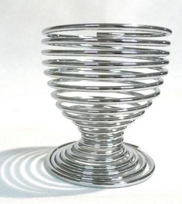 Tellier Gobel & Cie - Coquetier-Tellier Gobel & Cie-Coquetier spirale en métal 5x5x5cm