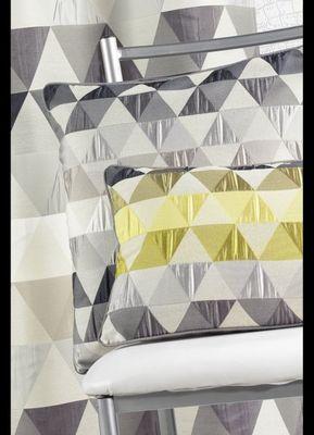 HOMEMAISON.COM - Galette de chaise-HOMEMAISON.COM-Coussin en jacquard aux motifs g�om�triques rectan