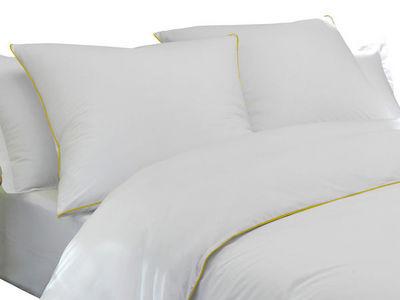 BLANC CERISE - Housse de couette-BLANC CERISE-Housse de couette - percale (80 fils/cm²) -  finit