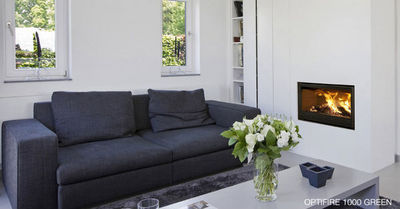 Bodart & Gonay - Chemin�e � foyer ferm�-Bodart & Gonay-Optifire design