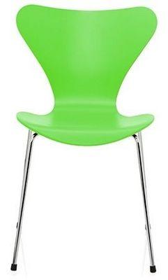 Arne Jacobsen - Chaise-Arne Jacobsen-Chaise Sries 7 Arne Jacobsen 3107 Bois structur Ve