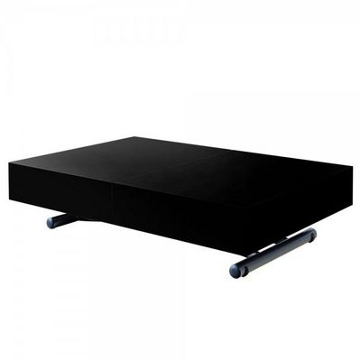 WHITE LABEL - Table basse rectangulaire-WHITE LABEL-Table basse relevable et extensible Aurora