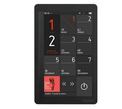 COWON - MP3-COWON-Lecteur MP4 FM COWON X9 32 Go - noir