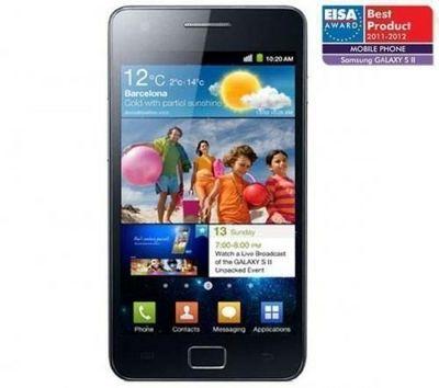 Samsung - T�l�phone-Samsung-Samsung i9100G Galaxy S II Android 2.3 - noir