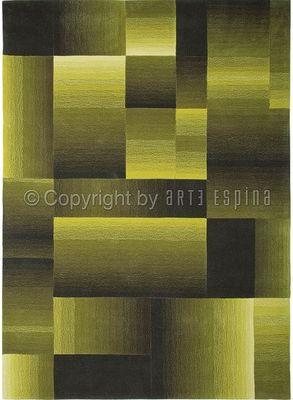 Arte Espina - Tapis contemporain-Arte Espina-Tapis de salon DIGIWORLD vert 140x200 en Acrylique