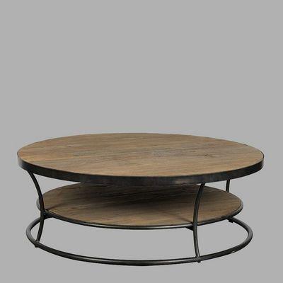BLANC D'IVOIRE - Table basse ronde-BLANC D'IVOIRE-AUDE
