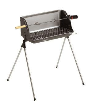 INVICTA - Barbecue au charbon-INVICTA-R�tissoire Barbecue convertible Nairobi 77x65x73cm