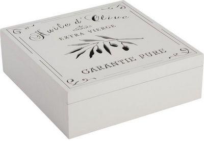 Aubry-Gaspard - Boite de rangement-Aubry-Gaspard-Boite de rangement Cuisine Huile d'Olive
