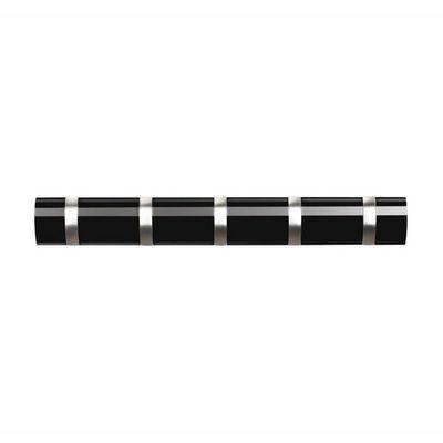 Umbra - Portemanteau-Umbra-Porte manteaux flip noir 5 crochets 51x8x3cm