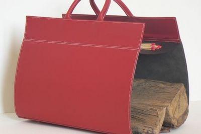 MIDIPY - Porte-buches-MIDIPY-en cuir rouge
