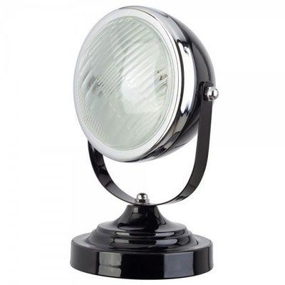 La Chaise Longue - Lampe à poser-La Chaise Longue-Lampe Phare rétro Noir