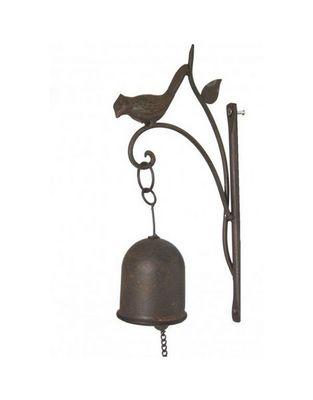 L'HERITIER DU TEMPS - Cloche d'extérieur-L'HERITIER DU TEMPS-Carillon Mural Oiseau en Fonte