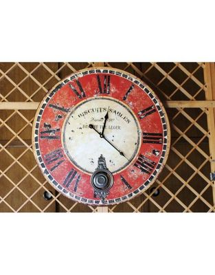 L'HERITIER DU TEMPS - Horloge murale-L'HERITIER DU TEMPS-Horloge à Balancier Cuisine Ø 58cm