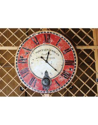 L'HERITIER DU TEMPS - Horloge murale-L'HERITIER DU TEMPS-Horloge � Balancier Cuisine � 58cm