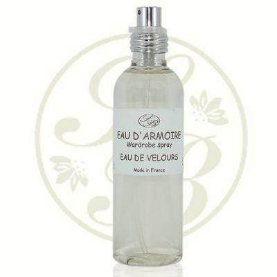 Savonnerie De Bormes - Parfum d'int�rieur-Savonnerie De Bormes-Eau d'armoire - Eau de velours - 100 ml - Savonne