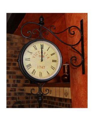 L'HERITIER DU TEMPS - Horloge murale-L'HERITIER DU TEMPS-Horloge de Gare Murale 46cm