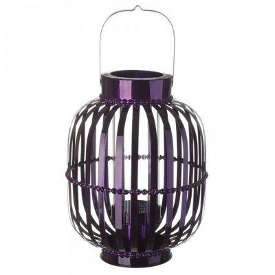 La Chaise Longue - Lanterne d'extérieur-La Chaise Longue-Lanterne Shinny violet