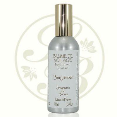 Savonnerie De Bormes - Parfum d'intérieur-Savonnerie De Bormes-Brume de voilage - Bergamote - 100 ml - Savonnerie