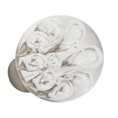 Les Verreries De Brehat - Bouton de porte-Les Verreries De Brehat-Bulles de fleurs sphérique