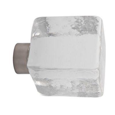Les Verreries De Brehat - Bouton de porte-Les Verreries De Brehat-Cube Clear
