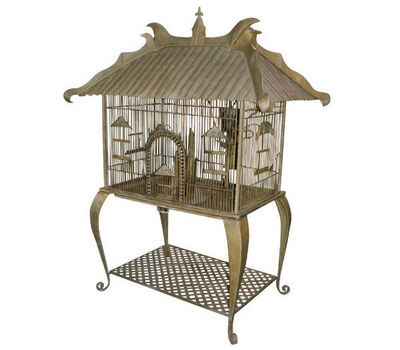 Demeure et Jardin - Cage à oiseaux-Demeure et Jardin-Cage Jules Verne